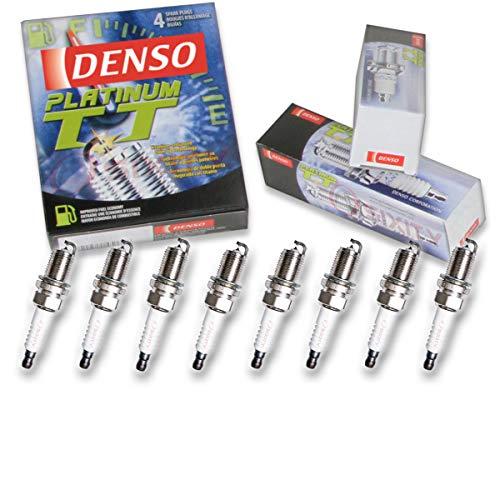 8 pcs Denso Platinum TT Spark Plugs 2004-2009 Jaguar XJ8 4.2L -
