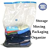 50 PACK Huge Vacuum Seal Moving Storage Bag Space Saver Jumbo size Wholesale Deal