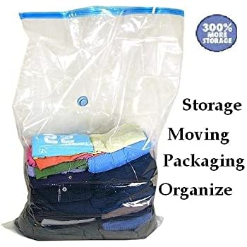 Amazon Com 50 Pack Huge Vacuum Seal Moving Storage Bag