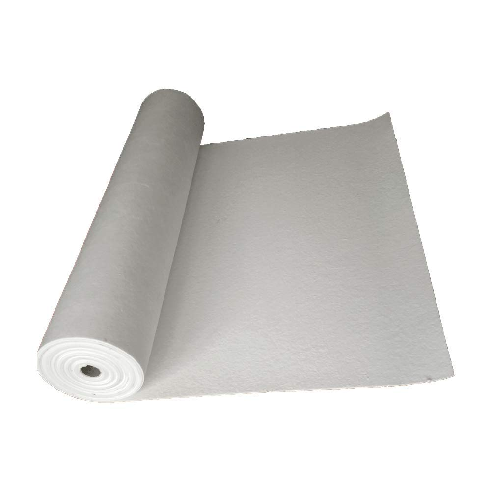 Ceramic Fiber Paper 7620x610x1mm Non Asbestos Fireproof Kiln Shelf Liner by Simond Store