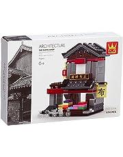 Wange 2316 Cloth Shop Shaped Building Blocks - 174 Pieces