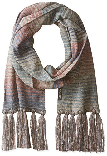 Pendleton Men's Long Fringe Scarf, Yakima Camp Stripe, One Size ()