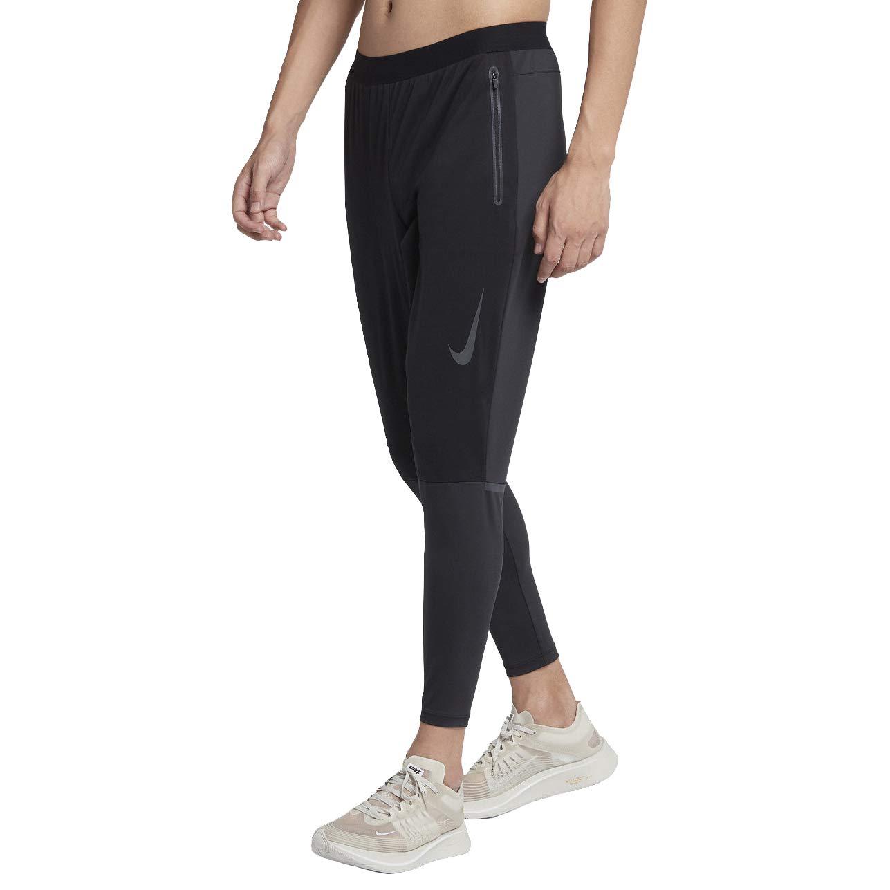 Noir, noir XL Nike Shield Swift Pantalon Homme