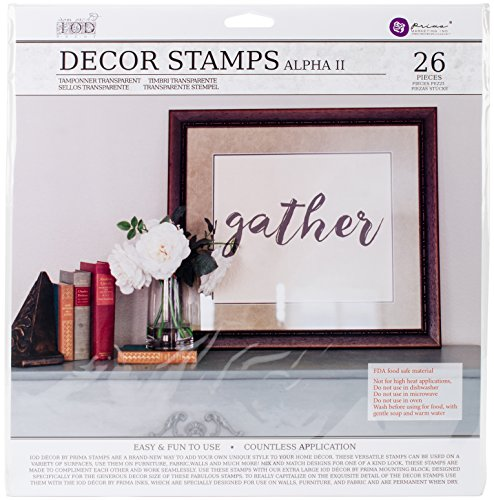 Decor Stamp - Prima Marketing IOD Decor Stamps - Alpha2