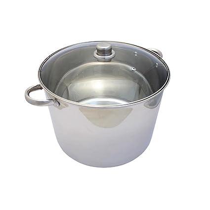 Deckel Suppentopf Rostfrei Topf Eintopf Kochtopf Induktion 12 Liter Kochtopf