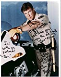 """Larry Wilcox of CHiPs Signed Autographed """"To Danny"""" Glossy 8x10 Photo - COA Matching Holograms"""