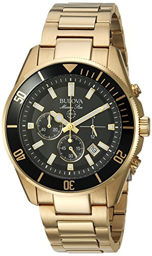 Bulova Men's 98B250 Analog Display Quartz Two Tone ()