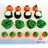 Edible Vegetables gardening cake topper decoration (2x2)