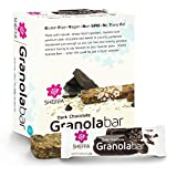 Cheap Sheffa Granola Snack Bar, Dark Chocolate, 0.85 Ounce (Pack of 16) HEALTHY & TASTY | Vegan | Kosher | Gluten Free | Non GMO | Low Sodium | for busy people – OFFICE /  WORK