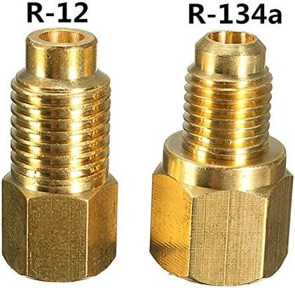 Queenwind は、R12 と R12 を R134a 真空ポンプ真鍮アダプターセットにしました