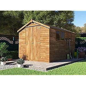Dunster House12x8 Workshop Shed