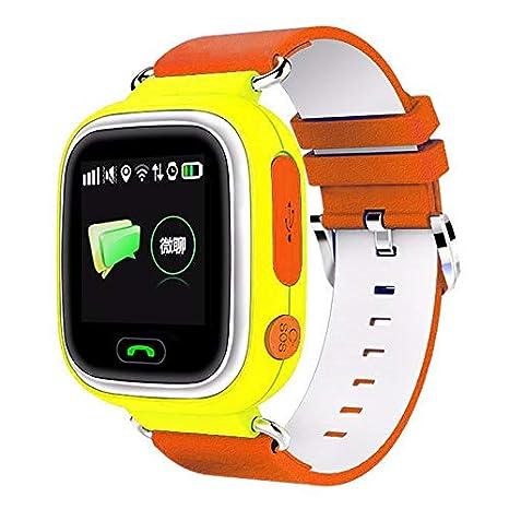 Edhua GPS Niños Reloj Inteligente,Baby Anti-Lost Watches SOS Call ...