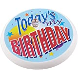 Beistle BL011 Today's My Birthday Blinking Button, 2-Inch