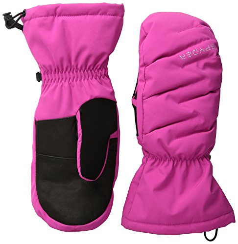 Spyder Women's Candy Downhill Ski Mittens, Small, Voila/Silver