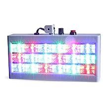 High Quality Led Flashing Light,18 LEDs 30W Strobe Light RGB Flash Light Stage Party Lighting Sound Activated Mode DJ Light Hang Light for KTV, Disco, DJ, Party, Wedding, Show, Club, Pub, Holiday, Christmas