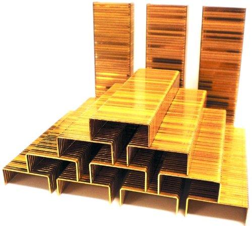 20 000 per Case Type C 1 1//4 x 5//8 Inches Industrial Grade Staples