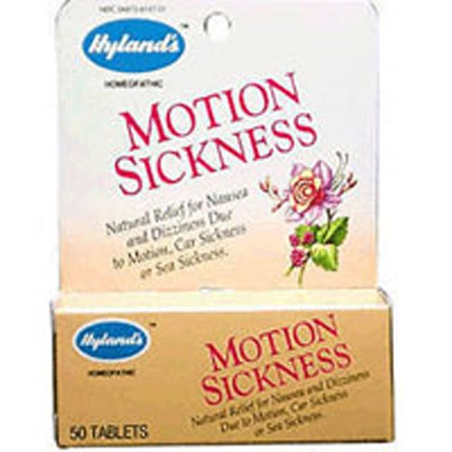 Hylands Motion Sickness 50 Tabs - Hyland Motion Sickness (100 Tabs)
