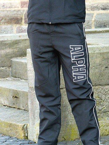 neue Version Neuankömmling fantastische Einsparungen Alpha Industries Track Suit Sportanzug schwarz