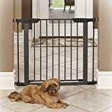 MidWest Homes for Pets Steel Gate, 29-Inch, Graphite