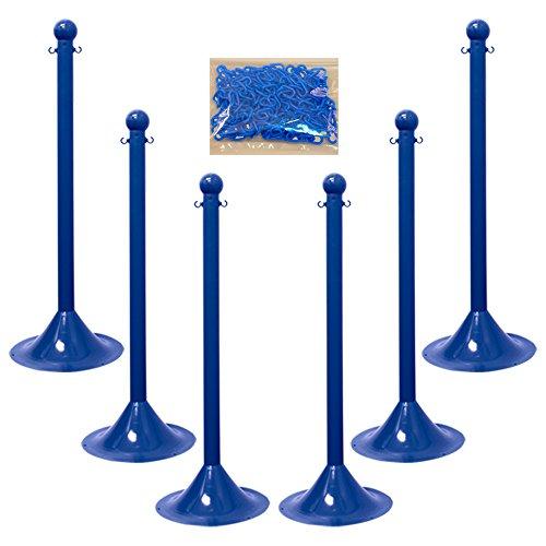 Stanchion Chain (Mr. Chain 71006-6 Blue Plastic 2