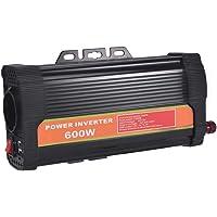 WZTO 600W Inversor de Corriente DC 12V a AC 220V-240V Convertidor de Corriente con 2 Puertos USB 5V/2.1A y 1 Toma…
