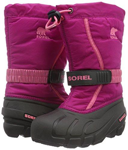 Sorel Taille Flurry Unisexes Youth Blush trop Pink Rose Bottes 38 Enfant deep vCxrICU