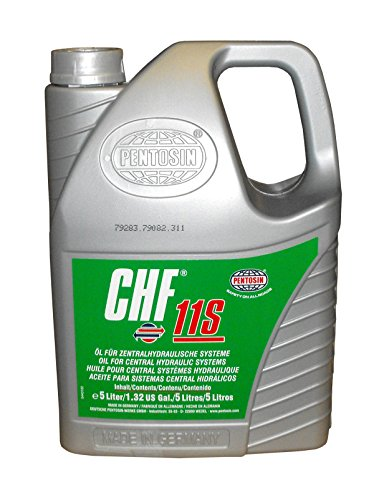 (Pentosin 1405216-C  CHF 11S Synthetic Hydraulic Fluid, 5 Liter (Case of 3))