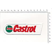 IRON ON EMBROIDERED PATCH CASTROL