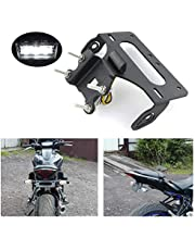 Aftermarket Fender Eliminator / Tail Tidy Fit for FZ-07 MT-07 2014 2015 2016 2017 2018 2019 2020,with LED License Plate Light, Compatible with OEM Turn Light