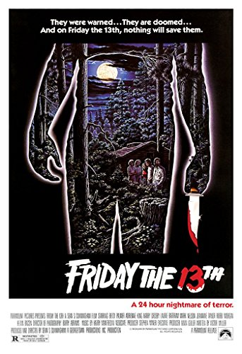 Movie Poster Friday the 13th 1980 27in x 40in  Horror Film
