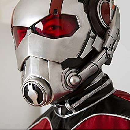 Amazon.com: meg 347g Ant Man Helmet Mask Cosplay Halloween Mask ...