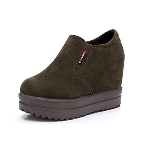 68629b9fc843d Amazon.com: ASO-SLING Womens Wedge Sneakers Platform High Top Casual ...