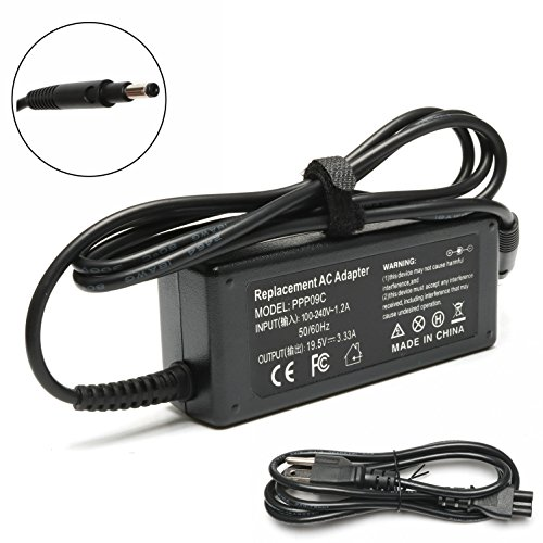65W Replacement AC adapter for HP 693715-001 677770-001 677770-002 677770-003, 613149-003 ADP-65HB FC [19.5V 3.33A - 50 001