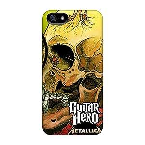 Premium Iphone 5/5s Case - Protective Skin - High Quality For Guitar Hero Metallica