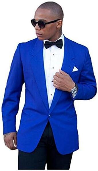 Botong - Traje - para hombre Azul azul real 52