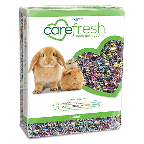 carefresh confetti small pet bedding, 50L (Pack May Vary)