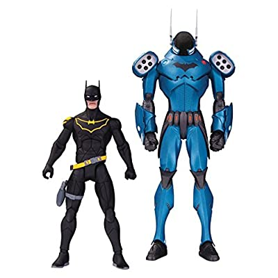 DC Collectibles Designer Series: Batman by Greg Capullo Action Figure (2 Pack): Toys & Games