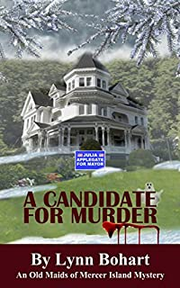 A Candidate For Murder by Lynn Bohart ebook deal