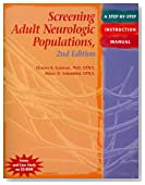 Screening Adult Neurologic Populations: A Step-by-Step Instruction Manual, 2nd Edition