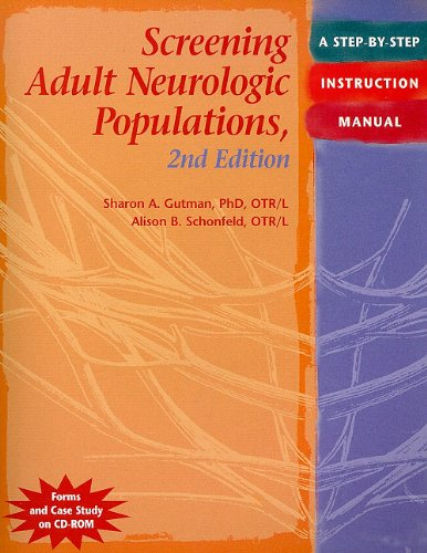1569002576 - Screening Adult Neurologic Populations: A Step-by-Step Instruction Manual, 2nd Edition