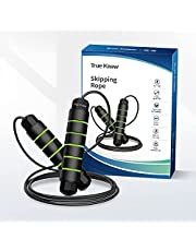 Jump Rope,TRUE Know Skipping Rope Rapid Speed Jump Rope, Tangle-Free Jumping Rope for Fitness Workout Aerobic Exercise Like Speed Training, Endurance Training