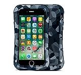 039b3552eb6 iPhone 7 metal Caso, cheetop Heavy Duty Safe smalle Cintura Resistente al  agua Prueba de