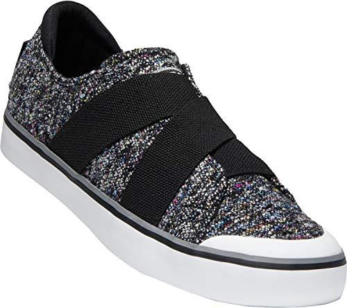 - KEEN - Women's Elsa III Gore Slip-On Canvas Sneaker for Casual Everyday Use, Black Multi/Black, 6.5 M US