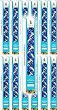 The Dreidel Company Havdalah Candle Handcrafted Havdala Candle (Blue & White, 12-Pack)