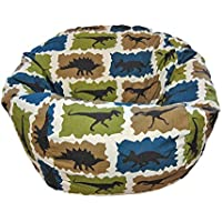 Ahh! Products Dinosaurs Blue Kid Bean Bag Chair