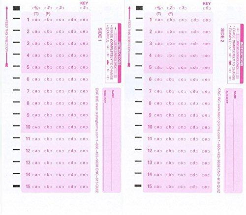BAL-151B 500 Sheet Pack Compatible Ballot Forms