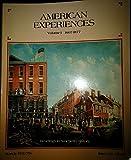 American Experiences Vol. 1 9780673181251