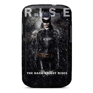 Excellent Design Catwoman The Dark Knight Rises Phone Case For Galaxy S3 Premium Tpu Case