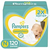 Diapers Newborn/Size 0 (< 10 lb), 120 Count