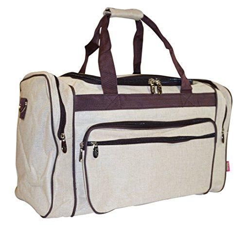 - N. Gil Seersucker Duffle Bag